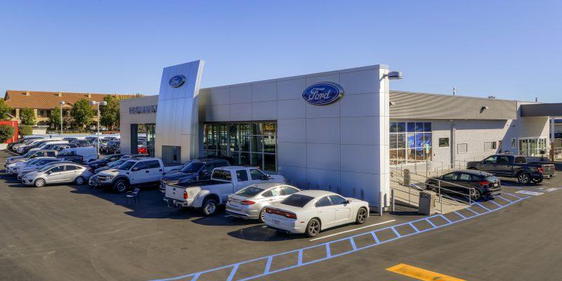 Redlands Ford Dealership Construction Completed