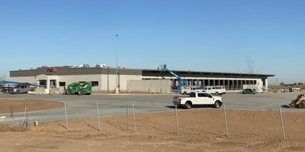 Calexico Project (warehouse) Being Built